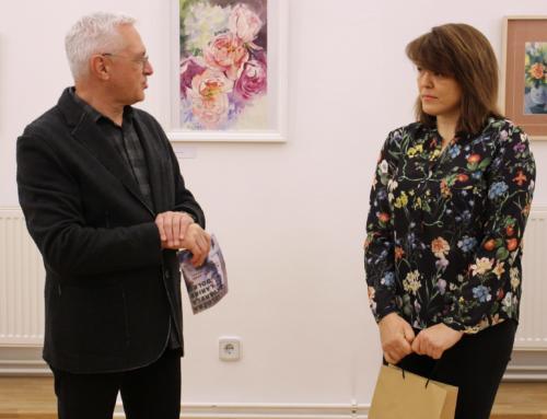 Larisa Golec predstavila svoje akvarele Ludbrežanima