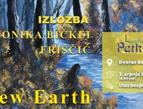 """Ovog vikenda izložba """"New Earth"""" – akril na platnu autorice Monike Bičkei Friščuć"""