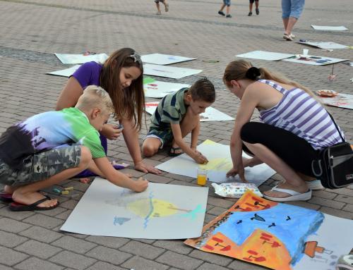 "Iduće subote očekuje nas ""Street painting – Crtanje na ulici"""
