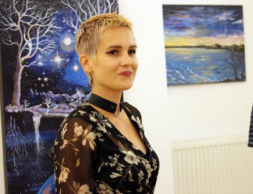 """Otvorena izložba radova Monike Bičkei Friščić: """"To je baš moj – Monika stil"""""""