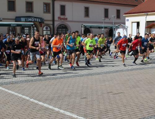 Brojni trkači u Ludbregu na utrci 'Centrum mundi'