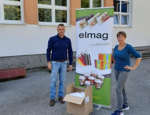 Tvrtka Elmag d.o.o. iz Ludbrega donirala jednoslojne maskice za učenike i učitelje s ludbreškog područja