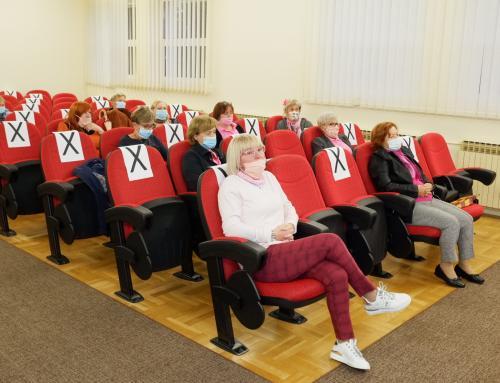 Udruga Narcisa u povodu Dana zdravih dojki organizirala predavanje