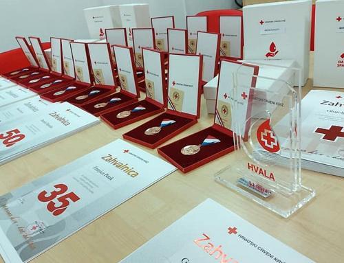 Ludbreški Crveni križ danas će obilježiti Dan dobrovoljnih darivatelja krvi
