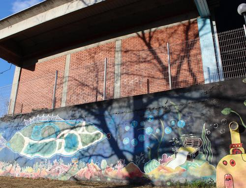 LUMEN: U sklopu projekta nastao eko-mural na Otoku mladosti