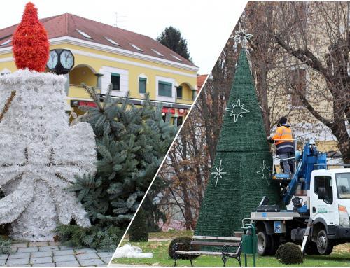 U tijeku je božićno ukrašavanje grada