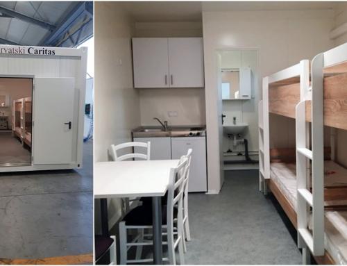 Hrvatski Caritas: Prvi stambeni moduli ovoga tjedna stižu obiteljima čije su kuće stradale u potresu
