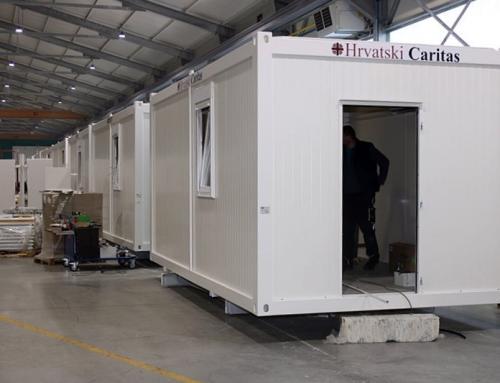 Hrvatski Caritas naručit će dodatnih 100 stambenih modula za stanovništvo pogođeno potresom