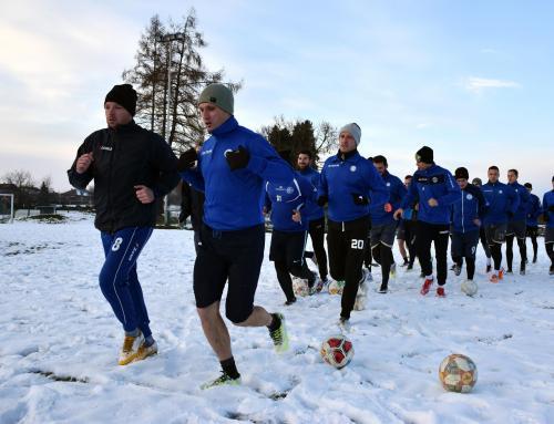 Prva dva dana trenirali po snijegu