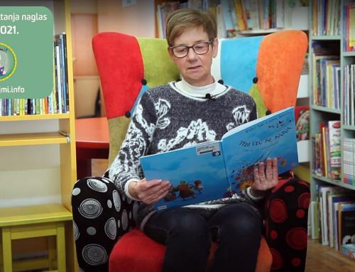 Ludbreška knjižnica uključila se u kampanju za poticanje čitanja naglas djeci od rođenja