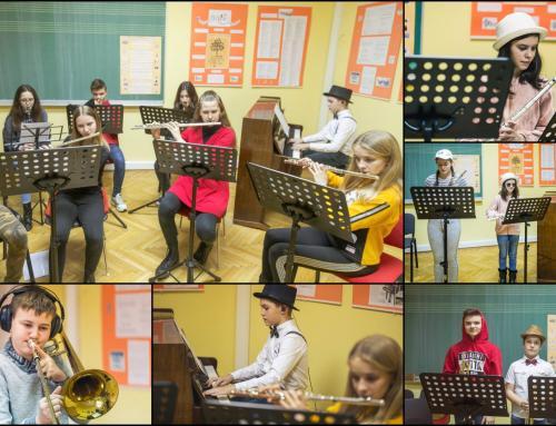 Učenici OGŠ Ludbreg pripremaju online fašnički koncert