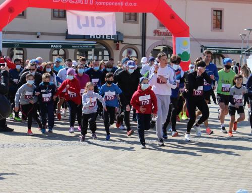 U sklopu 'Welcome spring' festivala održana gradska utrka 'Centrum mundi'