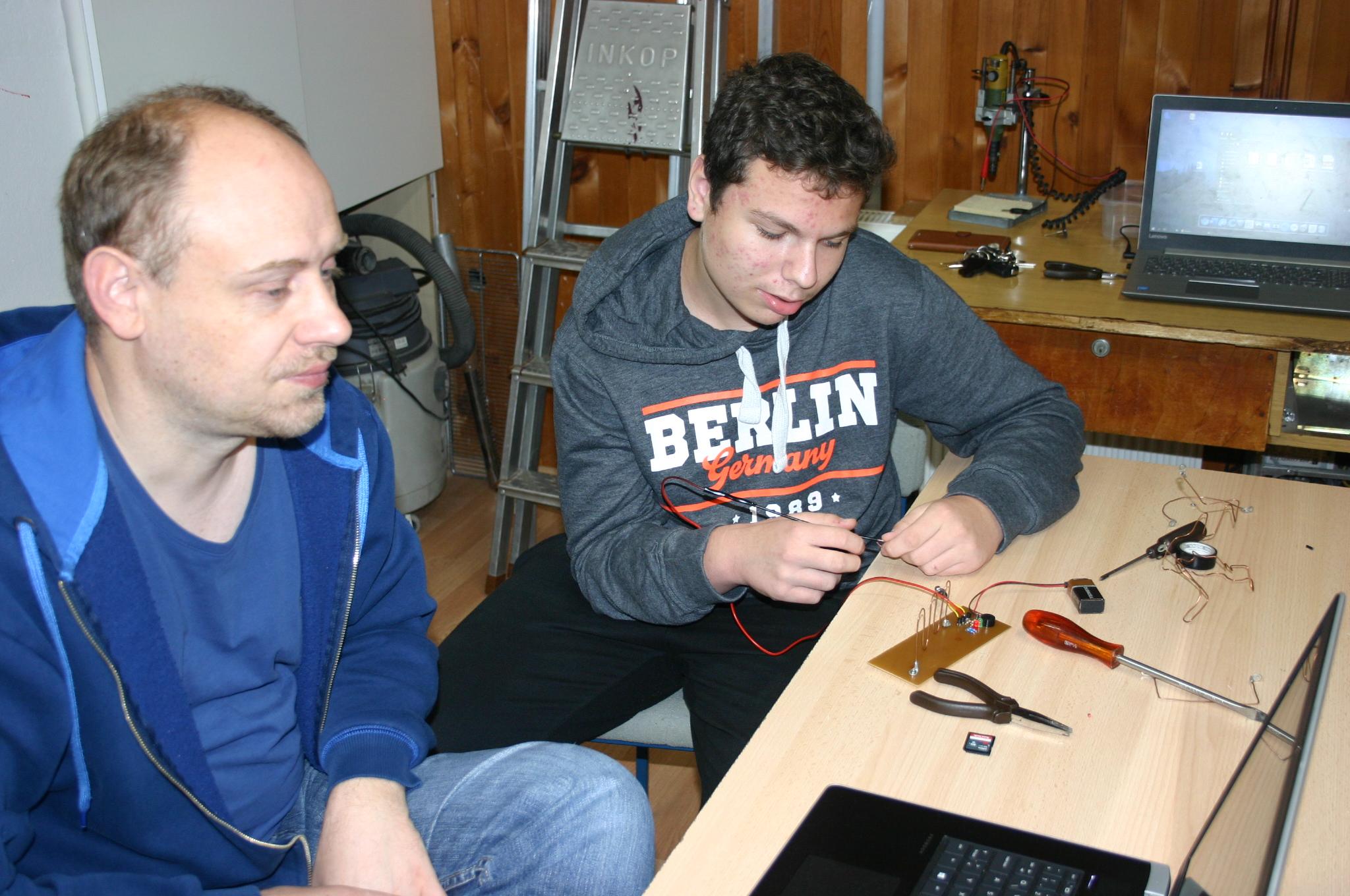 Mentor Mario Lohajner i Slobodan Popović 1