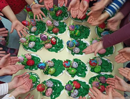 Vrijedne ručice mališana iz DV Radost pripremile uskrsne dekoracije