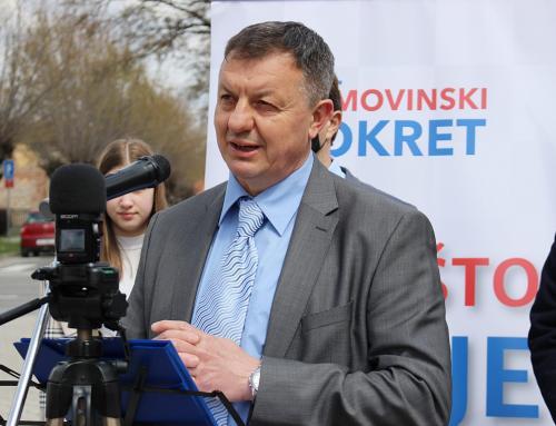 Siniša Markulinčić predstavio kandidaturu za ludbreškog gradonačelnika