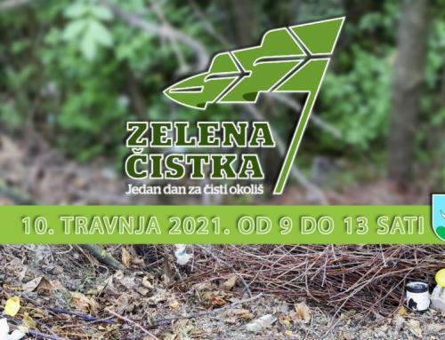 Sutra će se održati Zelena čistka, uključite se i vi!