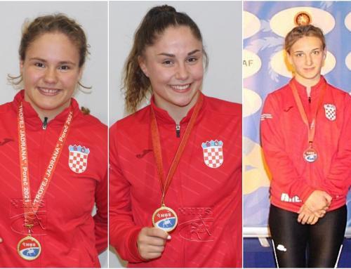 Ludbreške hrvačice ponovno briljirale, ovoga puta kao dio hrvatske reprezentacije