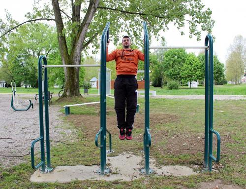Nove sprave u fitness parku kod Bednje