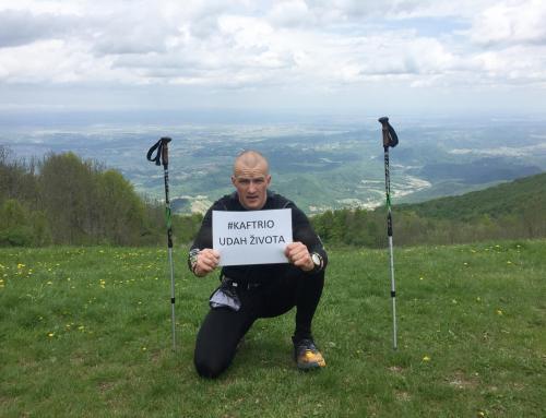 Kristijan Janušić – Za oboljele od cistične fibroze 29 sati se penjao na Ivančicu