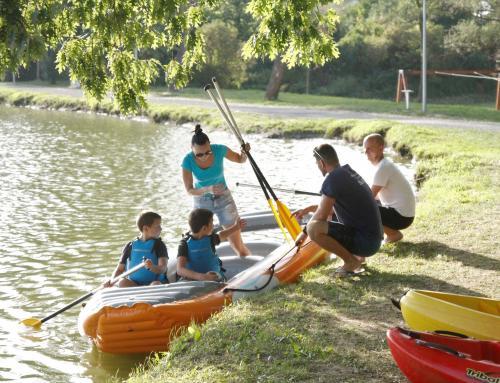 Promocija vodenih sportova na ludbreškom Otoku mladosti