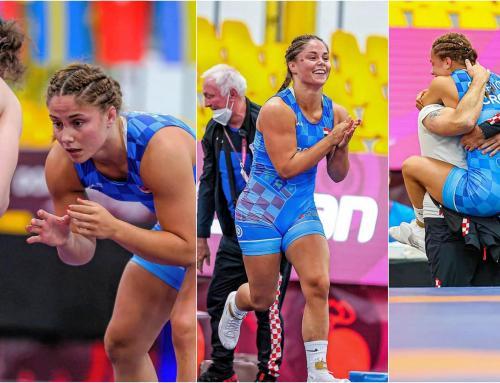 Osvojila drugu europsku broncu, predsjednik Hrvačkog kluba Ludbreg pripremio joj iznenađenje