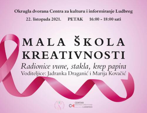 Najavljujemo: Kreativna radionica pod vodstvom Jadranke Draganić i Marije Kovačić
